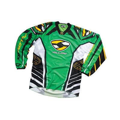 Alloy Motocross MX Maillot Jersey 05 Viper Vert//Jaune Enduro Vélo Vtt Haut