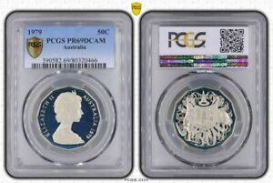 1979-AUSTRALIA-50-CENTS-PCGS-PR69DCAM-PROOF-COIN-ONLY-3-GRADED-HIGHER