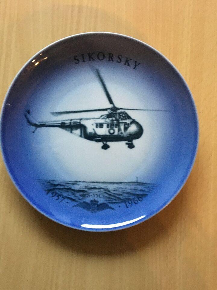 Bing og Grøndal platte , Sikorsky Flyvevåbnet, platte no 7