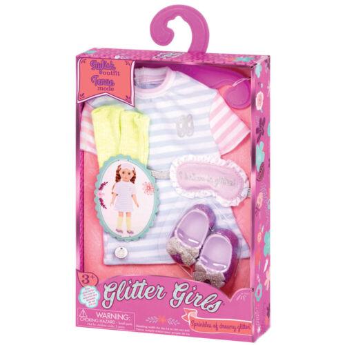 Le ragazze glitter-zuccherini di Benevolo Glitter Elegante Vestito da bambola 70.50023Z
