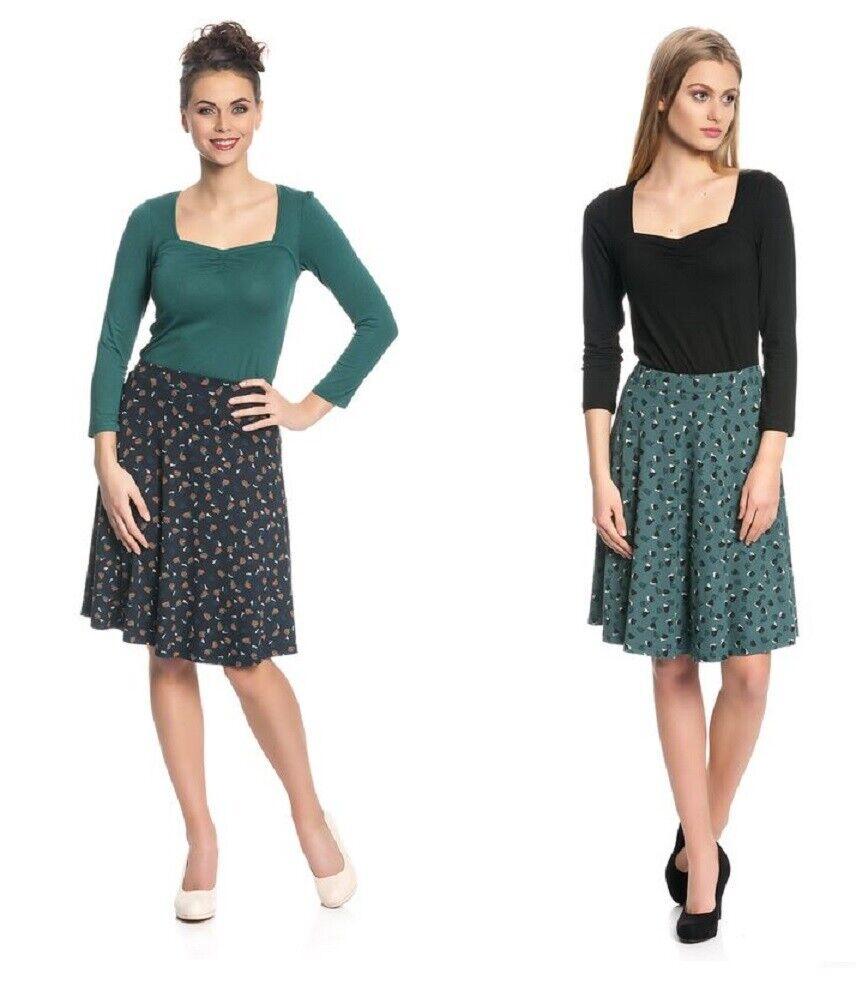 Vive Maria Skirt Green Navy bluee Swing Bébé Skirt for Women Navy 342773