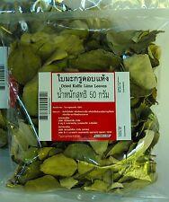 KAFFIR LIME LEAVES SUN DRIED ORGANIC THAI COOKING TOM YUM HEALTHY TEA INT POST