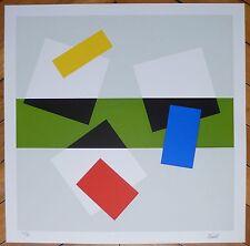 Froment Joël sérigraphie signée abstraction géométrique art abstrait madi