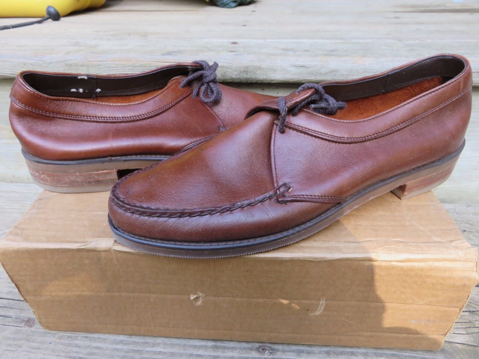 vendita outlet online NEW NEW NEW Stuart Mcguire BRWN Loafer Dress scarpe Sz 4100 New Old Stock Leather  offerta speciale