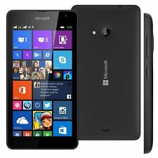 Microsoft Lumia 535 Black 8GB Unlocked Windows Smartphone New Phone Only
