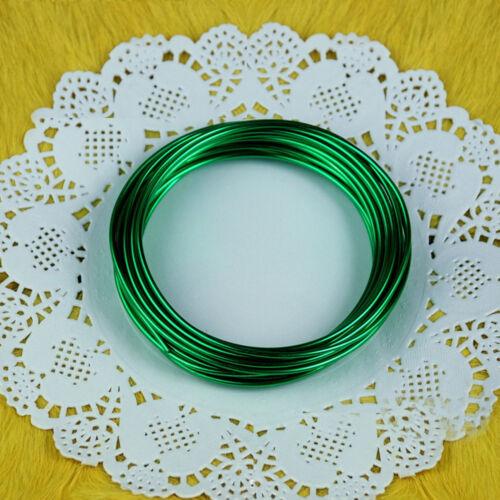 Craft Beading,Florist Wire Findings 1Roll 5m Aluminium Jewellery Modelling