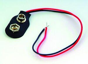 Connecteur De Batterie 9 V Convient Pour Maison De Poupées éclairage-afficher Le Titre D'origine Dans La Douleur