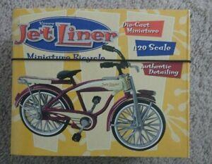 XONEX-JET-LINER-MINIATURE-BICYCLE-1-20-SCALE-DIE-CAST