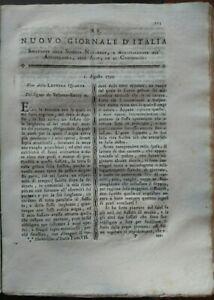 1795-039-NUOVO-GIORNALE-D-039-ITALIA-039-AMORE-PER-L-039-AGRICOLTURA-FENOMENI-MAGNETICI