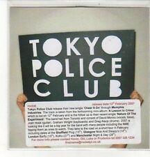 (CZ905) Tokyo Police Club, Cheer It On - 2007 DJ CD