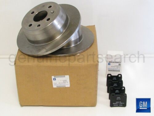 Genuine Vauxhall Astra F 92-98 Solid Rear Brake Disc /& Pad Kit 93182602