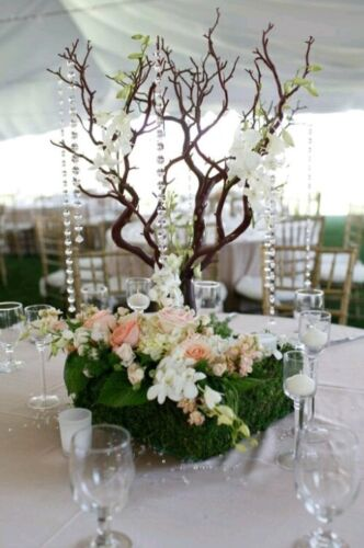 """12 20"""" manzanita branches trimmed ready for use in DIY wedding home centerpieces"""