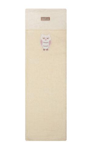 Womar Baby Kuscheldecke Baumwolldecke mit Eulenmotiv 100x150cm 100/% Baumwolle