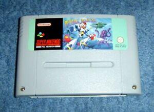 * Mega Man X * - 100% Original SUPER NINTENDO-SNES Juego-Pal N