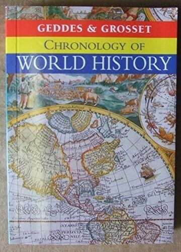New, Chronology of World History, , Book