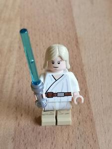 LEGO STAR WARS FIGUR ### LUKE SKYWALKER AUS SET 7104 CHROM SCHWERT ### =TOP