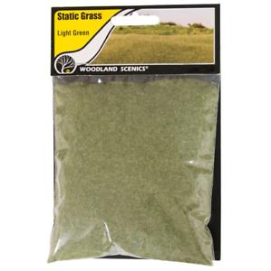 Woodland Scenics Static Grass Light Green 2mm FS615