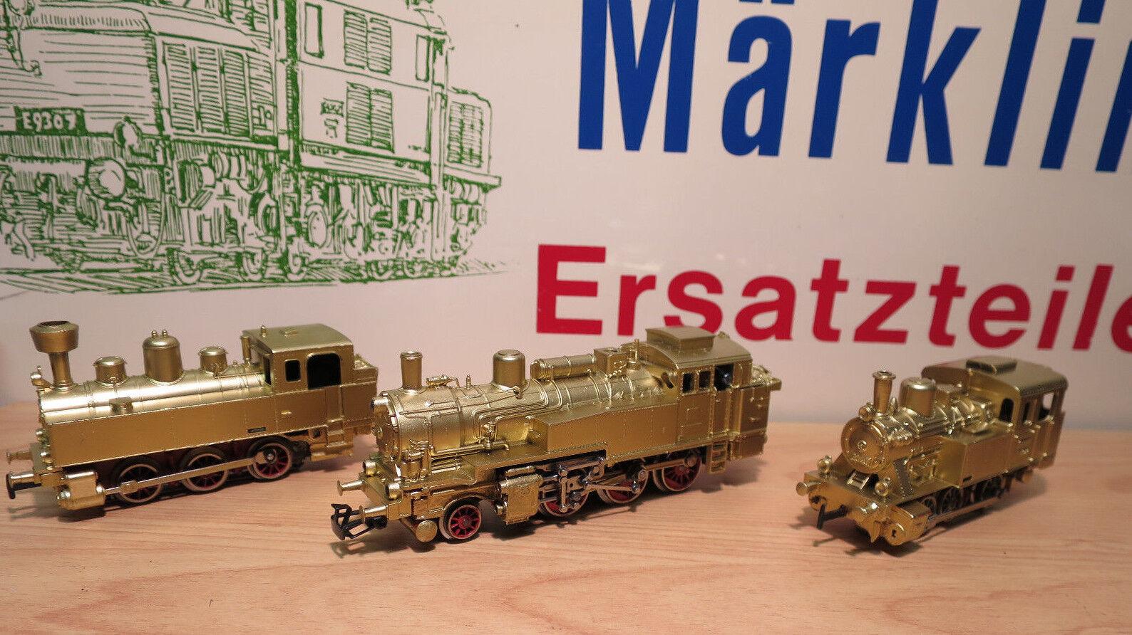 (MB) Märklin El 3 DORADOS 3095 gold 3090 gold 3029 gold Estado Perfecto augenweide
