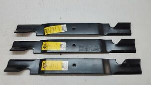 "Qty-3 21-1//2/"" XHT B1BC1203 Mower Blades for 61/"" cut Bobcat 42180"