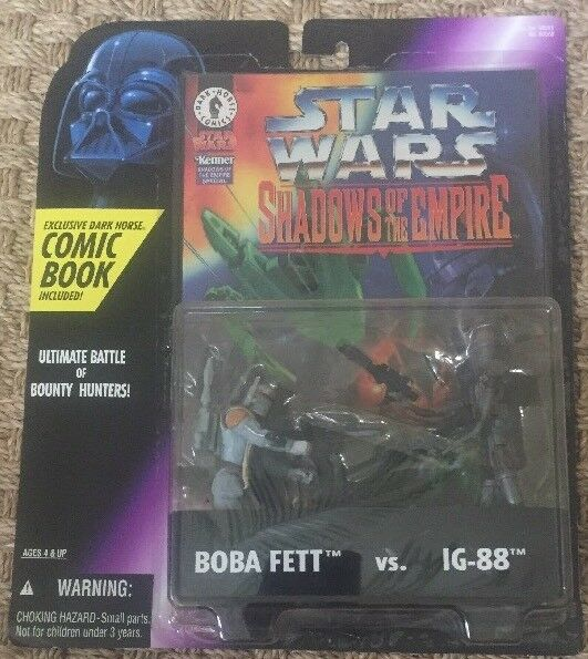 Kenner Star Wars Shadows of the Empire Boba Fett Vs. Ig 88 Action Figure
