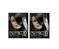 Clairol Perfect 10 By Nice 'n Easy Hair Color 004 Dark Brown 1 ... Free Shipping