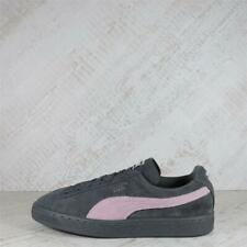 Womens Puma Suede Classic Grey/Pink Trainers (PFP1) RRP £69.99