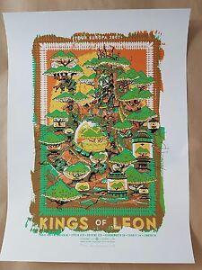 Kings-of-Leon-European-Tour-2007-Silkscreen-Poster-Art-Guy-Burwell-Ltd-Ed-210
