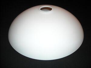 Lampenschirm Glas Glasschirm Ersatz E27 Weiss K0343a O Ca 30 Cm