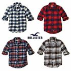 New Hollister by Abercrombie Mens Broad Beach Button Shirt NWT