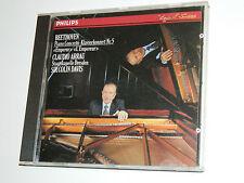 CD CLAUDIO ARRAU sir COLIN DAVIS piano concerto n°5 BEETHOVEN dresden PHILIPS
