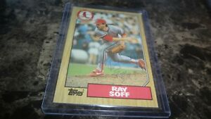 1987-TOPPS-RAY-SOFF-AUTOGRAPHED-BASEBALL-CARD