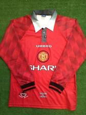 Manchester United retro shirt 1996/1998 Long Sleeve jersey Giggs Beckham Cantona