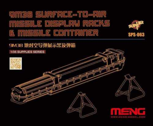 Meng 1:35 9M38 Surface-to-air Missile Display Racks Container Detail Set #SPS063