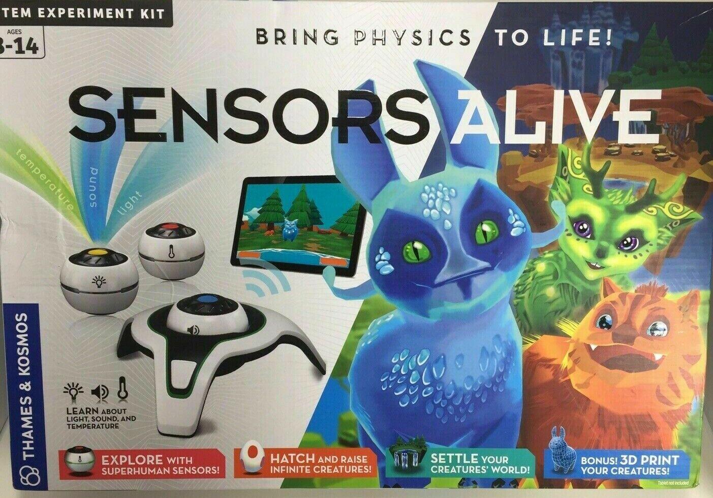 Thames och Kosmos Sensorer, levande Stem Experimänt Kit, ta med fysik till liv