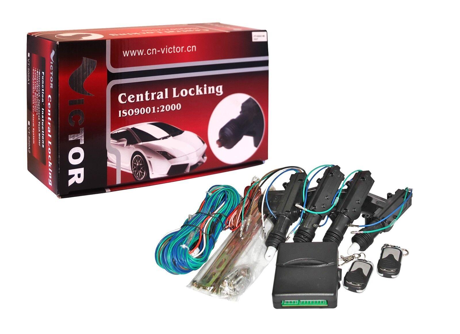 Remote Central Door Locking Kit Toyota Mr2 Yaris Celica Ebay