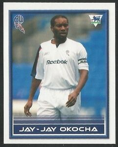 Merlin-2006-Premier-League-Quiz-Backs-052-BOLTON-WANDERERS-JAY-JAY-OKOCHA