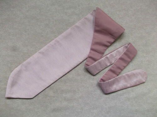 Boys Cravat WEDDING Tie FORMAL PARTY One Size SINGLE END ENGLISH ROSE PINK