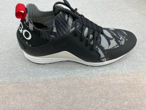 BOSS HUGO BOSS Men/'s Sneakers Hybrid Runn KNTPPR In 120 Open White