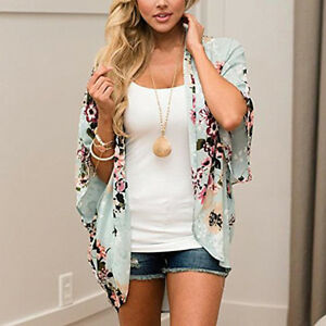 Women-Summer-Trendy-Casual-Chiffon-Cardigan-Floral-Kimono-Boho-Blouse-Tops-Coat