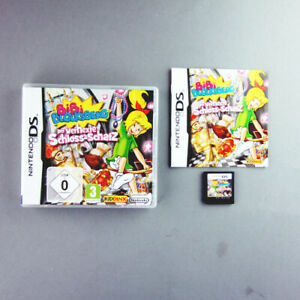 Nintendo-Jeu-DS-Bibi-Bali-le-Chateau-Ensorcele-Tresor-et-Emballage-Instructions