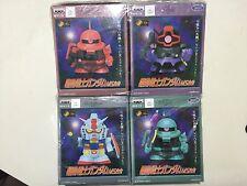 GUNDAM 20th anniversary RX-78-2 Gundam ZAKU DOM ZAKU diecast Banpresto BPZ-013