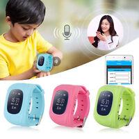 Kids Children Gps Tracker Smart Watch Anti-lost Monitor Sos Call Sim Smartphone