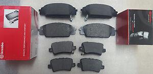 Honda-Civic-Type-R-FN2-2-0-Vtec-06-Plaquettes-de-frein-avant-et-arriere-brembo-freins