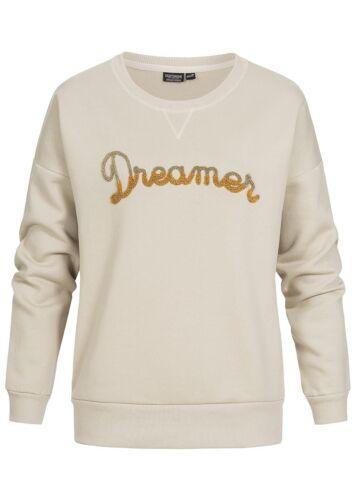 50/% OFF B18010130 Damen Eight2Nine Pullover Sweater Dreamer Patch beige gold