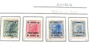 AUSTRIA-OFFICES-in-CRETE-MH-amp-UH-VINTAGE-STAMPS-SOME-NICE-GRADES