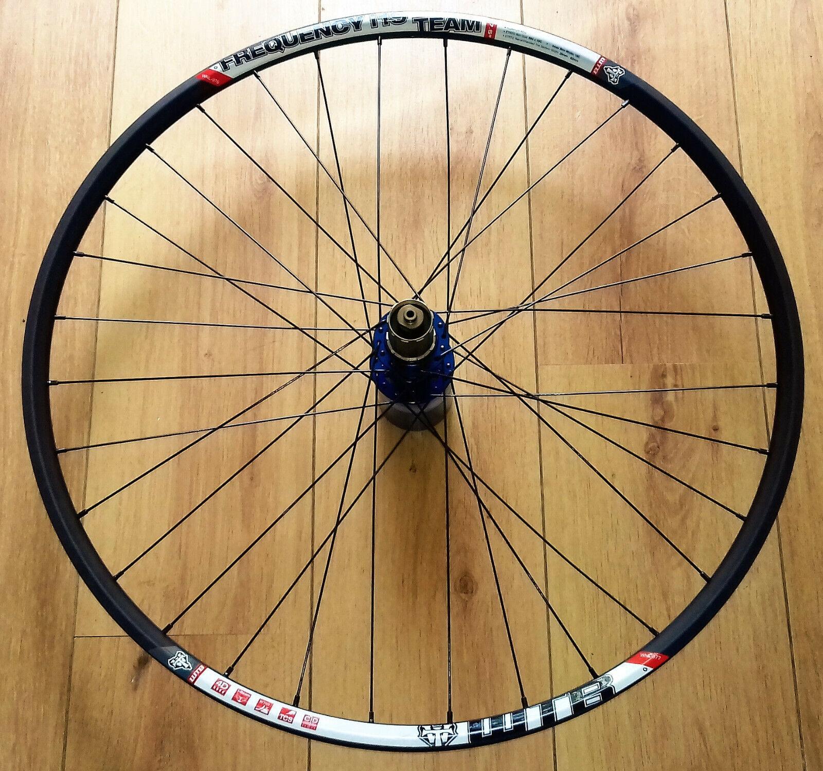 27.5  WTB Frequency i19 Rim,bluee  Novatec D792SB Hub Rear Wheel,Sapim Race Spokes  best choice