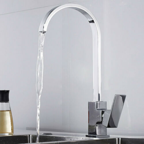 360° Küchenarmatur Ausziehbar mit Brause Spültisch Armatur Küche Wasserhahn