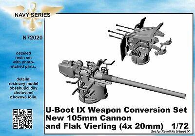 CMK 1:72 U-boat Type IXC weapon conversion set for Revell