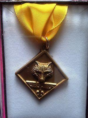 Boy Cub Scout Webelos Leader Training Award Uniform Medal ...