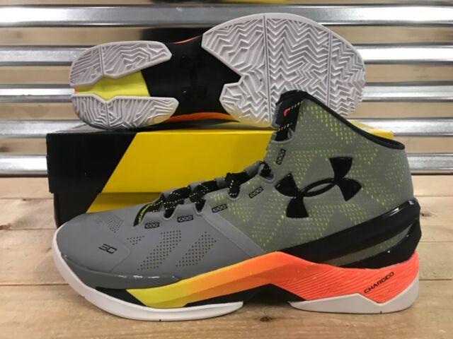 ea48cb9413ae Under Armour UA Curry 2 Basketball Shoes Iron Sharped Iron SZ ( 1259007-035  )